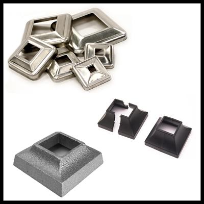 Aluminum Cover Plates, Flanges & Shoes