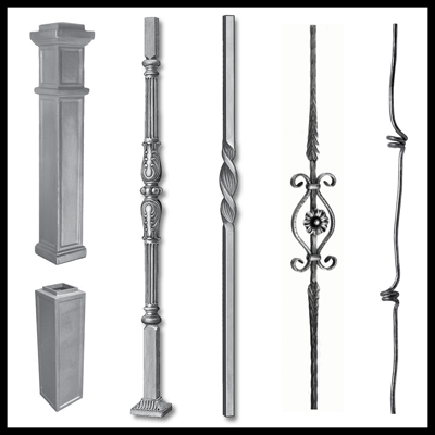 Balusters and Newel Posts