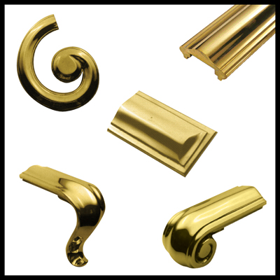 Brass Handrail & Ends