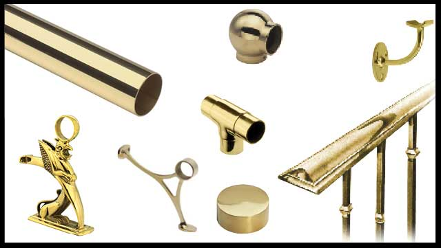 Brass Railing Collection