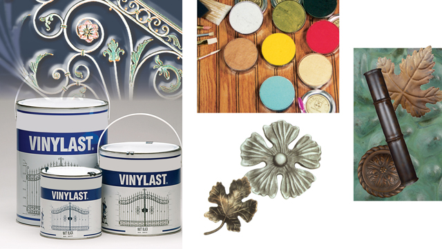 Paints and finishes for metalwork