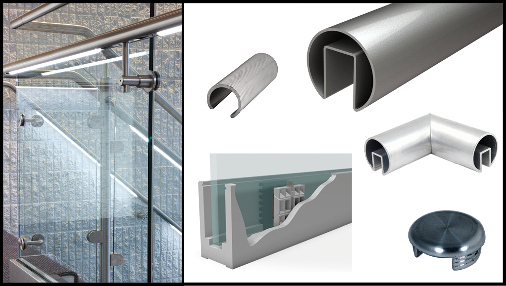 glass railing systems for decks system indoor home depot exterior