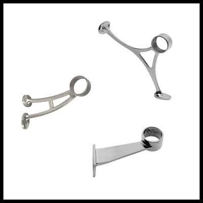 stainless steel foot rail stainless steel handrail brackets